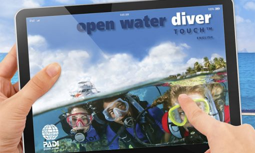 padi open water touch 03