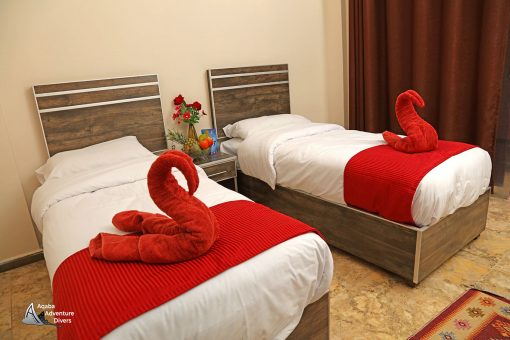 Aqaba Diving Accommodation Double Room