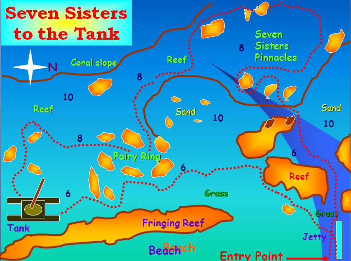 Seven Sisters Dive Site Aqaba